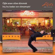 Öğle arası yemekler yenilipte ofise dönüş saati geldimi bizim de içimizi bir ayrılık hüzün kaplar… Yarın tekrar gel Alinsli :) www.alins.com.tr #alins #izmir #restaurant #cafe #yemek #öğleyemeği