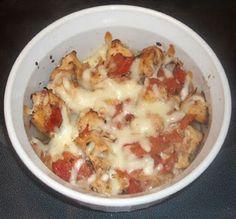HCG Diet Phase 3 Bruschetta Chicken