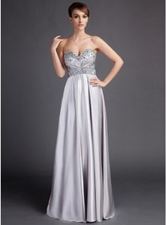 2c4479885fc Empire Sweetheart Sweep Train Charmeuse Mother of the Bride Dress With  Ruffle Beading Bride Sister