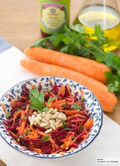 Ensalada de zanahoria y remolacha