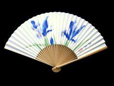 Japanese Hand Fan  Japanese Vintage Folding by VintageFromJapan