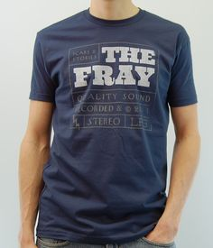 The Fray Label Shirt.  Simple typography