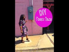 DIY: Flounce Dress - YouTube