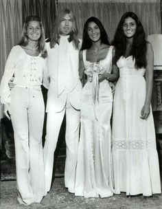 Cher & Gregg Allman's wedding.  Married in 1975 and divorced in 1979. One child, Elijah Blue Allman, born July 10, 1976