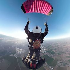 It takes two to tango. Get an Angel View of #XRW with #GoProFamily member @gurustunts, @tristan_flies, + #GoProFusion.  • • • #GoPro #Skydiving #Wingsuit #OverCapture #Skydive #TinyPlanet