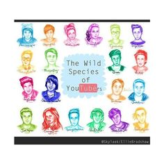 YOUTUBER'S ® ❤ liked on Polyvore featuring youtube and people
