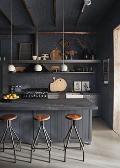 5 brilliant applications for industrial lighting design - . - 5 brilliant applications for industrial lighting design – # Applications - Industrial Kitchen Design, Vintage Industrial Decor, Industrial House, Interior Design Kitchen, Modern Interior Design, Industrial Lighting, Industrial Kitchens, Industrial Bedroom, Industrial Furniture