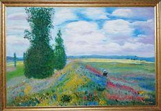 2019 - Öl auf Pappleinwand 40 x 60 cm Mein Portfolio, Painting, Art, Lily Pond, Impressionist Paintings, Oil On Canvas, Idea Paint, Landscape, Summer