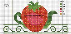 Strawberry teapot chart
