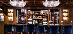 Andrew Nebbet bar design and ochre lighting