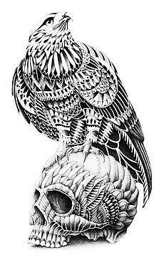 Зентангл (zentangle) - арт~картинки для творчества.