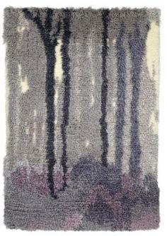 Rya Rug, Tapestry Weaving, Textile Art, Scandinavian, Art Deco, Carpet, Rugs, Painting, Finland
