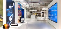The Innovation Gallery at our Shanghai office pays homage to Milliken innovation in the past, present and future. Innovation Lab, Shanghai, The Past, Commercial, Marketing, Future, Spring 2014, Gallery, Studio