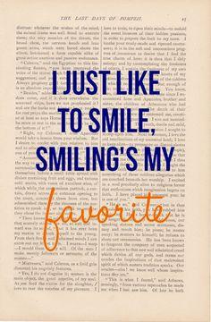 True story... I'm just a happy person :D