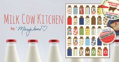 Milk Cow Kitchen new fabric from Mary Jane in stores now.