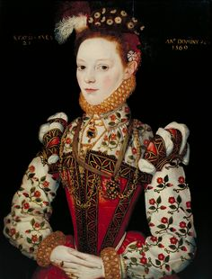 A Young Lady Aged 21, Possibly Helena Snakenborg, Later Marchioness of Northampton, British School 16th century