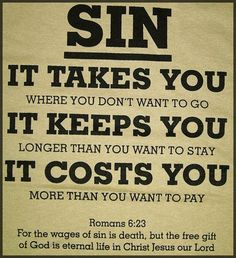 Romans 6 sin costs