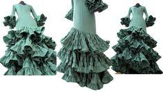 Parte III. Cómo hacer la Falda de un Vestido de Flamenca | Creativa Atelier