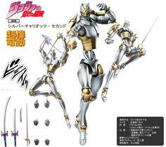 Super Figure moving   JoJo's Bizarre Adventure Part III - Silver Chari Oetz Second -