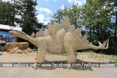 4ème Concours de sculptures sur paille & foin - Valloire Galibier Du 7 au 12 juillet 2015 #valloire