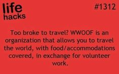 volunteer for trade and travel