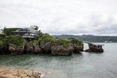 exterior of the island restaurant in Okinawa, Japan