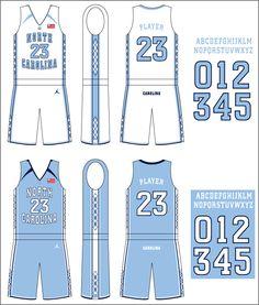 unc basketball jersey - Google Search