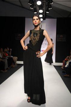 """LOVE"" Neha Sharma - Lakme Fashion Week F/W 2012 Read @ www.lemotsupreme.blogspot.com"