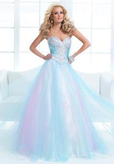 Tony Bowls Paris 114723 at Prom Dress Shop LIGHT BLUE AND PURPLE TULLE
