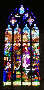 Dinan-Saint-Malo-Church-stained-glass-window-Brittany