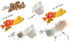 Emagreça até 3 kg em 2 semanas com os potinhos de aveia | MdeMulher Healthy Cooking, Healthy Recipes, Hypothyroidism Diet, Overnight Oats, Ale, Clean Eating, Remedies, Lose Weight, Food And Drink