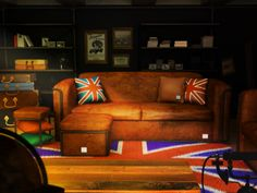 Bemiel Union_Basket Sofa custom#Mable-leather#Vinage style interior www.bemiel.com