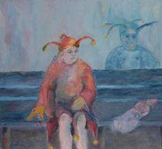 Błazen -  KokkoArt Łomianki  Author: Małgorzata Lehmann  #art #kokkoart