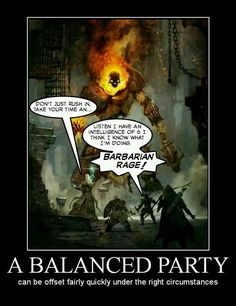 Dungeons and Dragons Issues