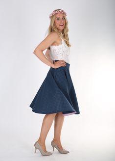 Waist Skirt, Midi Skirt, High Waisted Skirt, Skirts, Etsy, Fashion, Flamingo Costume, High Waist Skirt, Cotton Textile