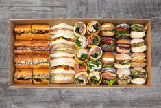 mini sandwich gourmet - Buscar con Google