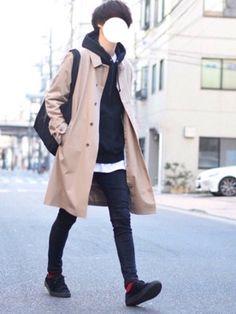 とっしーさんのコーディネート Korean Fashion Men, Kpop Fashion, Asian Fashion, Mens Fashion, Fashion Outfits, Japanese Fashion Men, Fashion Boots, Stylish Mens Outfits, Cool Outfits