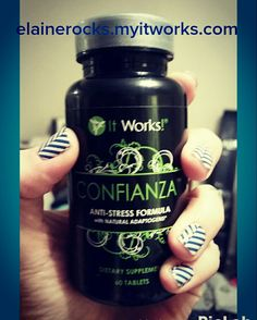 It Works confianza ~ Focus  ~Anti~stress ~Fights Fatigue ~ Helps with Concentration Text📱(702)755-7541 elainerocks.myitworks.com Sold in 25 different countries 🌎🌐 💯 All Natural Products
