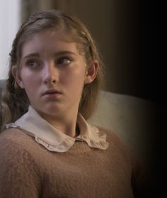 Primrose Everdeen (as portrayed by willow Shields) - The Hunger Games