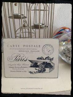 eine postkarte aus paris ...