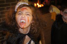 Britt als Vampier...halloween 2014