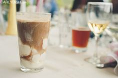 Serve root beer floats