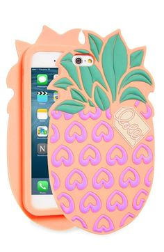 Cell Phone Cases - Lolli Swim 'Pineapple' iPhone 6 & Case available at - Welcome to the Cell Phone Cases Store, where you'll find great prices on a wide range of different cases for your cell phone (IPhone - Samsung) Girly Phone Cases, Cool Iphone Cases, Ipod Cases, Iphone Phone Cases, Phone Covers, Cellphone Case, Cell Phone Store, Cute Cases, Coque Iphone