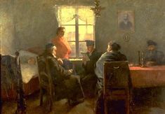 The Sabbath Rest by Samuel Hirszenberg