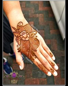Floral arabic For mehndi order bookings and classes contact