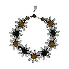 Miriam Haskell Marguerite Flower Necklace |