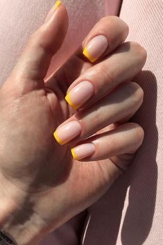 French Nail Art, French Tip Nails, Short French Nails, Summer French Nails, French Manicure Nails, French Manicure Designs, French Tips, Blue Nail, Pink Nails