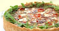Vegetable Pizza, Quiche, Feta, Food And Drink, Dinner, Vegetables, Breakfast, Dining