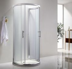Icon D D shaped shower £195
