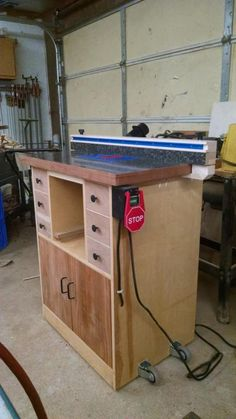 I spent several weeks looking for a large router table that would handle cabinet making and large furniture projects. With the features l wanted outfits like Rockler and Kreg wanted around $900. I've got about $150 in this cabinet router table....